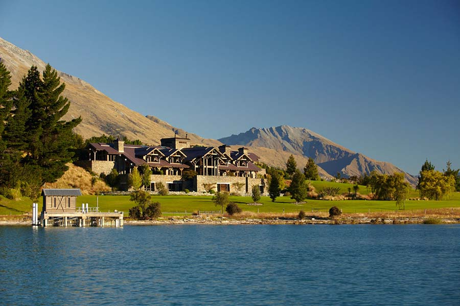 Blanket Bay Lodge Glenorchy luxury accommodation Queenstown - New Zealand all-inclusive resorts