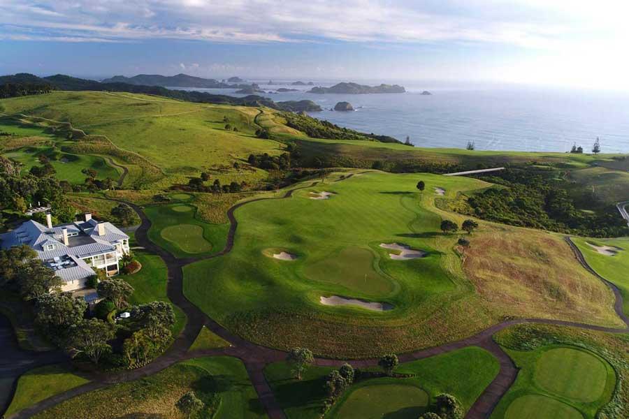 Kauri Cliffs New Zealand golf packages
