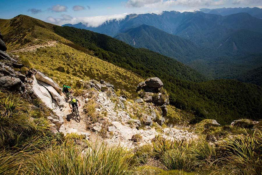 Old Ghost Road bike Heli Bike Nelson New Zealand adventure tours