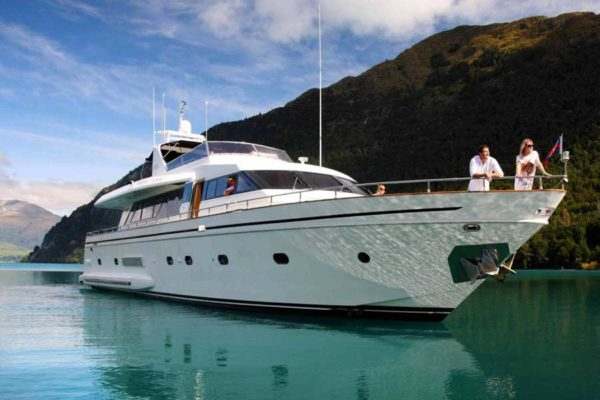 Pacific Jemm Luxury Super Yacht by Eichardt's Queenstown