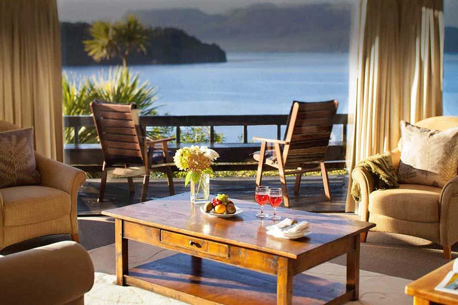 Solitaire Lodge Rotorua luxury accommodation - New Zealand all-inclusive resorts