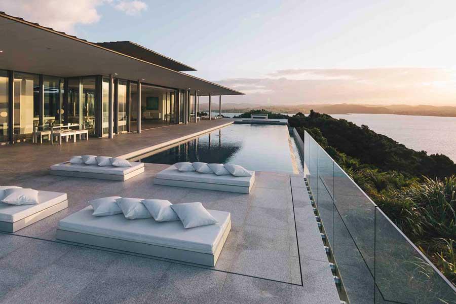 Eagles Nest Bay of Islands luxury villas New Zealand